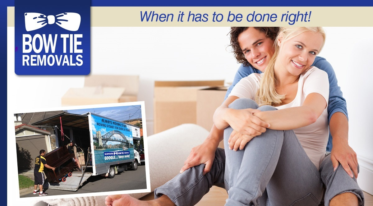 Removals Sydney - Bow Tie Removals.  Who we are: meet the team and our services including storage, office removals with pictures of our depot, removals trucks at locations in the Eastern Suburbs of Sydney